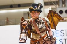 Steampunk fashion show @ Design Festa 38 by Tokyo Steampunk Society
