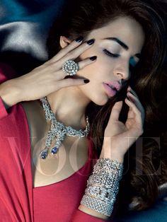 Uncut diamonds by Mahesh Notandass, Manish Arora's holographic crystals…https://www.ManishArora.com/