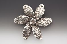 vintage spoon handle necklace claire flower