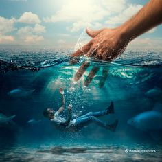 * If you're drowning in the same sin over & over & over, repent & come back to Jesus with your WHOLE heart & He will save you. Bible Images, Bible Pictures, Pictures Of Jesus Christ, Jesus Wallpaper, Jesus Painting, Prophetic Art, Jesus Art, Lion Of Judah, Jesus Is Lord