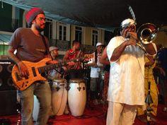 FOTOS (9) & VÍDEO (1) - Geronimo Santana e Banda Mont´Serrat - Escadaria do Passo (Salvador-Bahia-Brasil) 05-08-2014
