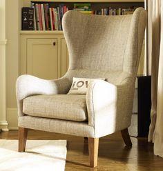 "Marie's Corner Ohren - Sessel ""Jackson"" beige - ein moderner Klassiker"