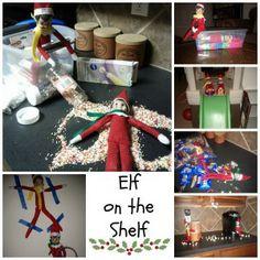 Elf on the Shelf - ideas & planning