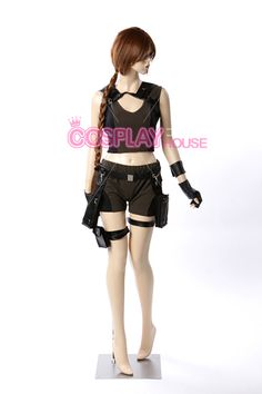 Tomb Raider - Lara Croft Cosplay Costume Version 01, $136.00