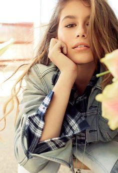 Mode : Kaia Gerber : à 13 ans, la fille de Cindy Crawford pose pour Teen Vogue ! - DR