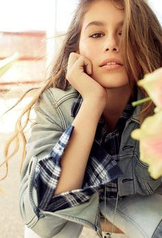 Mode : Kaia Gerber : à 13 ans, la fille de Cindy Crawford pose pour Teen Vogue ! - DR