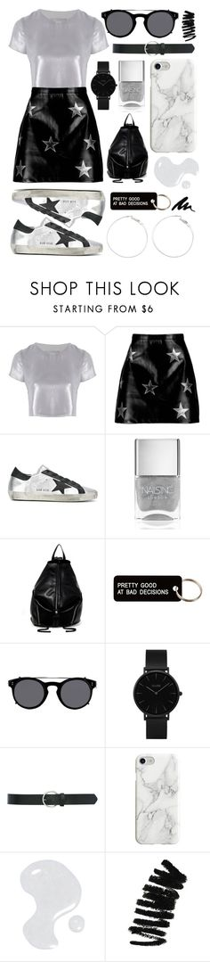 """BandS"" by linjimenez ❤ liked on Polyvore featuring Related, Boohoo, Golden Goose, Nails Inc., T-shirt & Jeans, Various Projects, Valentino, CLUSE, M&Co and Recover"