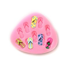 Baidecor Lovely Flip Flops Silicone Chocolate Molds Candy Mold Set Of 3 -- Insider's special review you can't miss. Read more : Candy Making Supplies