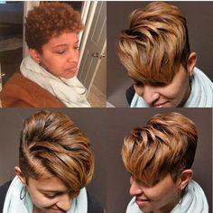 Cool and Stylish Pixie Haircut Ideas for a Bold Statement, My Hairstyle, Pretty Hairstyles, Girl Hairstyles, Short Black Hairstyles, 1930s Hairstyles, Short Sassy Hair, Short Hair Cuts, Straight Hair, Pixie Cuts