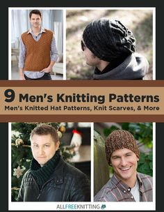 1485 best men patterns images on pinterest free knitting caps 9 mens knitting patterns mens knitted hat patterns knit scarves more free ebook fandeluxe Gallery