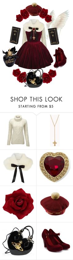 """""""something borrowed"""" by petitepasserine ❤ liked on Polyvore featuring Superdry, Forever 21, River Island, Monet, Vivienne Westwood, Melissa, Lolita Lempicka, women's clothing, women and female"""