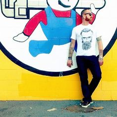 The Beard t-shirt @bypoststreet http://by-post-street.myshopify.com/collections/collection-3/products/the-beard $85.00