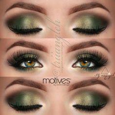 .@triiangleh | green makeup for green eyes :')  I've @motivescosmetics by @Loren Ridinger e... | Webstagram - the best Instagram viewer