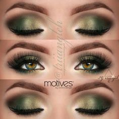 .@triiangleh | green makeup for green eyes :')  I've @motivescosmetics by @Loren Cline Ridinger e... | Webstagram - the best Instagram viewer