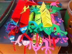 Splish Splash Splatter: Paper Lizards