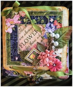 Hello, G45ers!Sneak Peeks are in full bloom here at the Graphic 45 blog, and today we have another brand new collection to introduce:Floral Shoppe! This fresh collection is ready to be cut, trimmed, and arranged into abouquet of fun projects. Check out some great examples straight fromDiane's