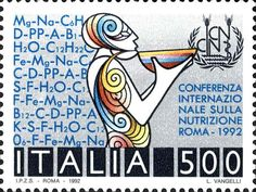 Stamp Italy 1992
