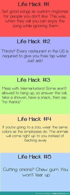 Life hacks by Sullywatt