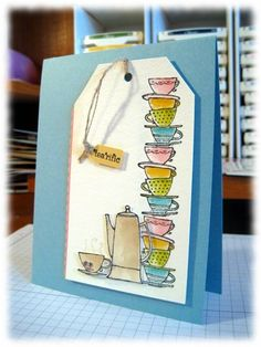 Heather Klump coffee case by Minders - Cards and Paper Crafts at Splitcoaststampers