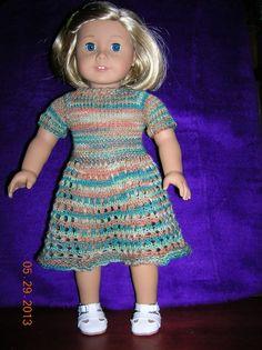 American Girl Little Spring Dress Pattern: 1) http://www.knittingparadise.com/tpr?p=3397954&t=174782 2) http://static.knittingparadise.com/upload/2013/6/3/1370281843597-american_girl_doll_little_spring_dress_pattern_by_janetlee_l.pdf