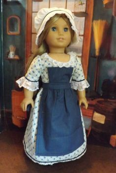 3-pc-Workdress for Feclity and Elizabeth by newyorkdolldesigns via eBay