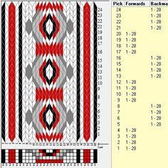 28 tarjetas, 5 colores,secuencia 4F-4B // sed_830 diseñado en GTT༺❁