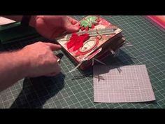 ▶ Mini Christmas Album using the Envelope Punch Board by Bland Designs - YouTube