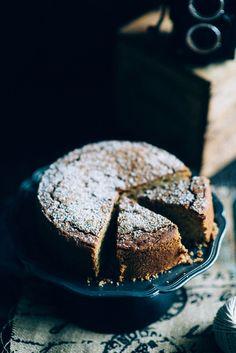 Vegan Tahini Cake