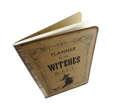 Spell Book Mini Witch Journal Pocket Moleskine by Istriadesign, $10.00
