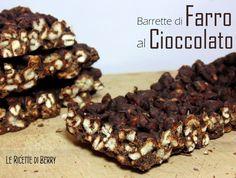 Barrette di Farro Soffiato al Cioccolato
