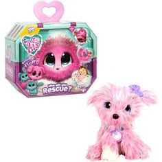 Scruff A Luvs Pink P Scruff A Luvs Pink Pet Electronic Toys For