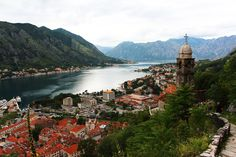 The Bay of Kotor - Kotor, Montenegro http://travellingwizards.com/destinations/countries/montenegro/kotor