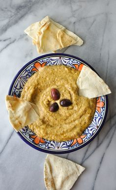 Melitzanosalata - a garlicky, smoky Greek roasted eggplant dip. Greek Recipes, My Recipes, Cooking Recipes, Favorite Recipes, Pasta Recipes, Diet Recipes, Recipies, Tzatziki, Appetizer Dips