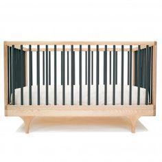 Caravan Crib In Black and Luxury Baby Cribs in Baby Furniture - Modern Best Baby Cribs, Best Crib, Modern Crib, All Modern, Nursery Furniture, Kids Furniture, Furniture Buyers, Funky Furniture, Rustic Furniture