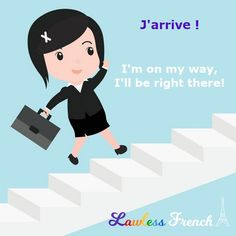 """""""J'arrive"""" represents one those rare moments where the English equivalent is actually wordier than in #French. #french #learnfrench #lawlessfrench J Arrive, Idiomatic Expressions, French People, Teacher Boards, French Expressions, French Teacher, French Words, Learn French, French Language"""
