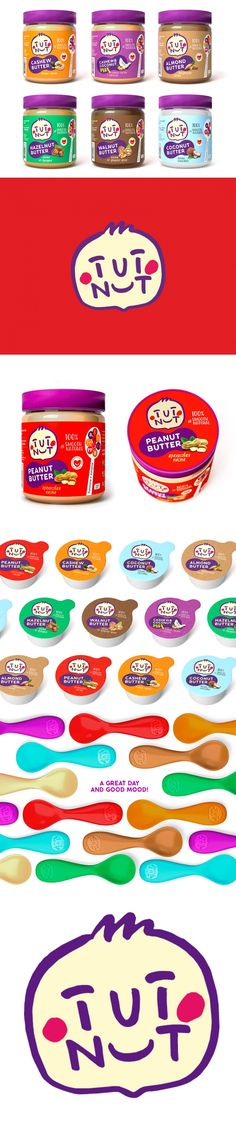 TUT NUT is Some Seriously Cute Nut Butter — The Dieline - Branding & Packaging Design