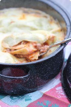 lasagnes au roaster