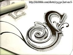 Abstract Lettering in Written Typography / Design Tickle Calligraphy Letters, Typography Letters, Caligraphy, Penmanship, Typography Images, Creative Lettering, Lettering Design, Typographie Inspiration, Designers Gráficos
