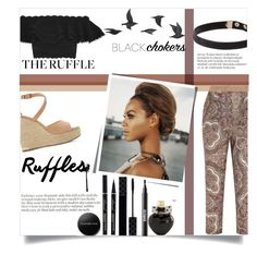 """Ruffles"" by lifeisworthlivingagain ❤ liked on Polyvore featuring Zimmermann, Alexander McQueen, Dune, Barneys New York, Jayson Home, Gucci, Ardency Inn, Aéropostale, Youngblood and ruffles"