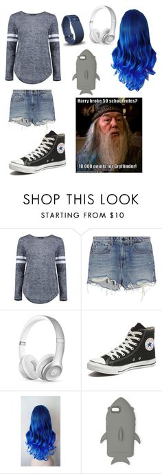 """""""Outfit"""" by archer10 ❤ liked on Polyvore featuring Boohoo, Alexander Wang, Beats by Dr. Dre, Converse, STELLA McCARTNEY and Fitbit"""