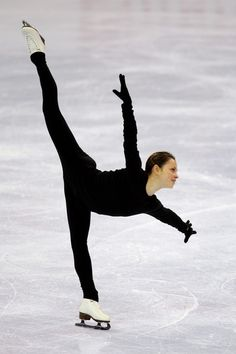 Skated with her once and man was she amazing to watch.  Just beautiful...