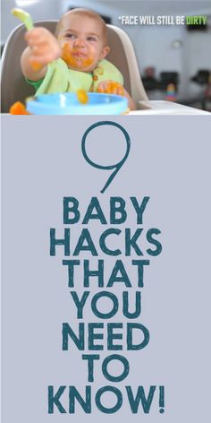9 Baby Hacks That You NEED To Know!
