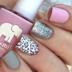 Fun Designs For Cute Nails That Will Make You Flip! ★ See more: http://glaminati.com/cute-nails-designs/