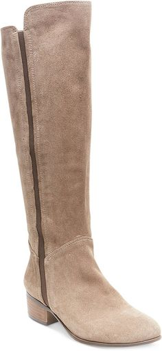 Steve Madden Pull On Suede Tall Boots