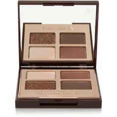 Charlotte Tilbury Luxury Palette Colour Coded Eye Shadow - The Dolce... (165 BRL) ❤ liked on Polyvore featuring beauty products, makeup, eye makeup, eyeshadow, beauty, eyes and palette eyeshadow