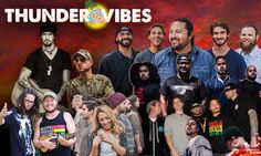 Sat, Aug 20  Facebook TweetEmail THUNDER VIBES II 2nd Annual Reggae Groove at the Amphitheater The mellow groove of the reggae sound read more