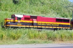 Panama Canal Railway, Panama. This was a really big train ride for my husband. He was there on a mission trip. The engineer even let him ride up in the engine.