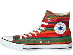"""Converse Japan Chuck Taylor All-Star Hi """"Huipil""""  The infatigable Converse  Chuck Taylor All-Star Hi is getting an authentic Hispanic treatment in the cca74758a"""