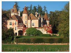 Château de Burnan ~ Burgundy ~ France ~ This is a hotel with lodging in France.