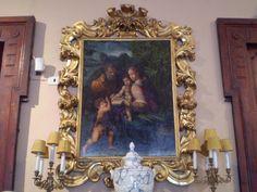 """#AntonioFantoni (Bologna, prima metà del XVI secolo), """"Sacra Famiglia con San Giovannino"""", olio su tavola, cm 100 x 83 #PinacotecaCivica #AscoliPiceno #Marche #Italy"""